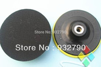 Wholesale 2pc New mm Angle Grinder Polisher Bonnet Pad Sanding Wheels Polishing Pads Disk Buffing Pad Cleaner Adhesive Disc M16 M14 M10 order lt no