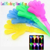 Wholesale 5pcs Led toys Hand Clapper for party cheerleading Party Concert Activity Cheer Props Kid Toy