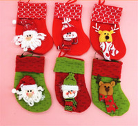 Wholesale Christmas socks Cartoon socks kids clothing baby Toys Christmas gifts to children Christmas decorations Snowman Red Sox wolesale