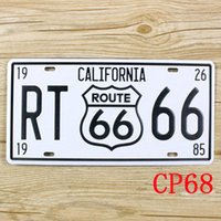 antique california painting - CP68 California RT66 Metal Tin Signs License Plate Bar Pub Cafe Home Art Metal Signs Size about cm