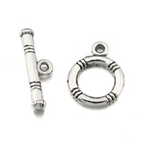 Wholesale 50 sets Jewelry mm Silver Toggle Clasps Lead Nickle Free Newest