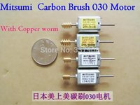 Wholesale 20PCS Mitsumi QK1 Series V Micro Dc Motor With Copper Worm And Double Shaft Used For Toy Or DIY