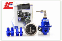 Wholesale Blue color TOMEI TYPE S Fuel Pressure Regulator With Fuel Pressure gauge