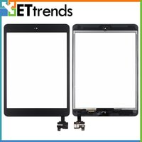 For Apple apple ipad install - Big Promotion For iPad Mini Mini Touch Screen Digitizer Assembly with IC and Home Button Installed Black White Low Price AA0026