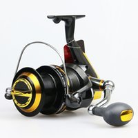 Wholesale ishing Fishing Reels big game sea fishing salwter spinning reel gear ratio trolling long cast surf casting surfcasting sp