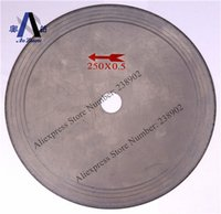 agate saws - 10 quot mm Ultra Thin Diamond Lapidary Saw Blade Diamond Cutting Disc For Cutting Glass Gemstone Jade Agate Crystal Charcoal etc