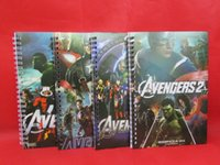 Wholesale The Avengers Alliance Notebook Note Book Notes Notepads Fashion as a Christmas present L0397D