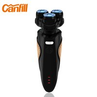 best men shaver - CANFILL Brand D Shaver Beard Trimmer Waterproof USB Rechargeable Car Electric Shaver For Men Best Shaving Machine CF Black
