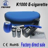 Single Multi  Newest Design K1000 Kit E Cigarette with 18350 Battery K1000 Tank Atomizer Huge Vapor ePipe K1000