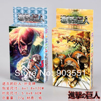 attack shaft - Amine Attack on Titan Shingeki no Kyojin deck Cosplay Poker Playing Cards Game Card Cosplay Toy