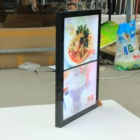 aluminum sign board - Magnetic Aluminum Frame Slim Led Menu Board Magentic Led Menu Signs A2