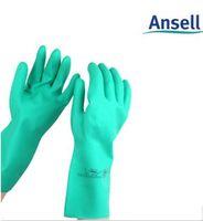 ansell gloves - Ansell gloves wear resistant nitrilobutadien gasoline alkali resistant gloves