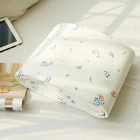Wholesale New Summer Quilt Cotton and Bamboo Fiber Home Textile Summer Style Blanket