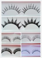 best natural looking false eyelashes - Multi Designs Optional Best Hand made Natural Looking Long Thick or Short Mixed False Eyelashes Retail