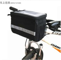 Wholesale 2015 Cycling Bike Bicycle Front Frame Bag Tube Pannier Double Pouch Pannier Beam Package Mountain Road Top bicycke tools bag TOPB3193
