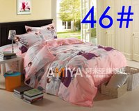 Wholesale 013046 Europe Fashion point quality Aloe cotton bedclothes luxury comforter cover Bedding Sets Duvet Cover Bed sheet Pillowcase