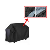 barbecue grilling tools - 150 cm BBQ Waterproof Barbecue Grill Cover BBQ Burner Cover Outdoor Grill Dust Cover Rain Protector Outdoor Cooking BBQ Tools