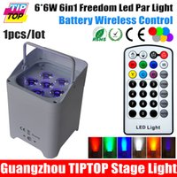 battery powered led uplights - TIPTOP Wireless Battery Powered Portable uplights W in1 Led Par Light RGBWA UV Slim Par Can With IRC For Wedding Decoration