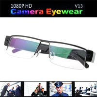 Precio de Cámara espía venta caliente-Vendedora caliente HD 1080P Gafas espía oculta cámara del deporte DVR grabadora de vídeo DV Cam Gafas de DHL