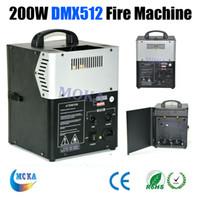 Wholesale 200W DMX Stage Fire Machine Flame Projector Fire Spray Machine Stage Effect Equipment MOKA
