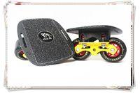 rocking skateboard - 2016 Freeline Skates Drift Board Scrub Aluminum Alloy Patines Skateboard Deck Freeline Skates Wheels Wakeboard