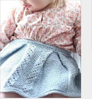Wholesale Girls Children Lace Skirt Girl Babies Kids Above Knee Mini Clothing Autumn Cotton Sweaters Mini Skirt Clothes