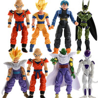 Wholesale 8PCS Children Anime Character Dolls Dragon Ball Movable Joints Action Figures
