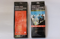 z07-5 - Wireless Bluetooth Selfie Stick Z07 Extendable Handheld Monopod Remote Control Self timer Shutter Selfie Sticks for iPhone s plus