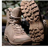 Cheap 2015 Hot Men's Jungle Boot Desert Tactical Combat Boots Outdoor Hiking Shoes Army Military Boots Free Shipping