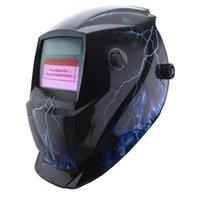 Wholesale Flash light Auto Darkening solar Li Welding Helmets Mask welder cap welder goggles tools for Mig Tig zx7 welding equipment order lt no trac