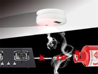 2015 caliente venta LCD CO monóxido de carbono envenenamiento por Gas <b>Sensor</b> advertencia alarma Detector cocina envío gratis