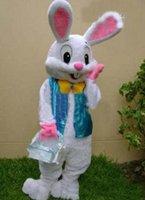 bunnies - Brand new PROFESSIONAL EASTER BUNNY MASCOT COSTUME Bugs Rabbit Hare Adult Fancy Dress Cartoon Suit
