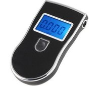Wholesale Prefessional police digital breath alcohol tester breathalyser black blacklight blue