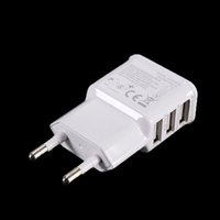 ac usb devices - Hot selling Ports EU Plug USB Wall Charger Adapter AC Power Adapter For Samsung iPhone iPad most of the USB devices