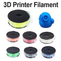 Wholesale 3D Printer Filament kg lb mm ABS Plastic for MakerBot RepRap Mendel order lt no track