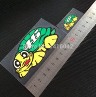 Wholesale 2packs a set Rossi turtle mini for m reflective stickers applique stickers walentino rossi motorcycle M52849
