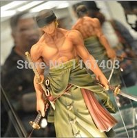 Wholesale Japanese Anime Cartoon Two Years Later One Piece Luffy Zoro Sanji Action Figure big size PVC toys Doll Model Collection