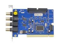 all'ingrosso video surveillance card-4 Chs scheda di acquisizione video software GV250 V8.2 GV Scheda Windows7 per la sorveglianza di sicurezza a circuito chiuso del sistema PC scheda DVR trasporto libero