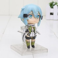 action game online - 4 quot Game Sword Art Online II Asada shino PVC Action Figure Collection Model Toy New