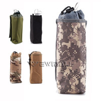 Wholesale Outdoor Tactical Army Molle Modular Insulated Heat Cold Water Bottle Bag Pouch