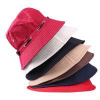 Wholesale Fashion Unisex Fishing Bucket Canvas Boonie Hat Sun Visor Cap Travel Outdoor Hat