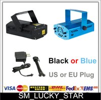 auto delivery - Fast delivery Blue Black Mini Laser Stage Lighting mW Green Red Laser DJ Party Stage Light Disco Dance Home Party