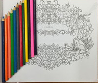 artist gift sets - Secret Garden Pencil color pencil set Coloured Pencils Rainbow Pencil Drawing Artist Set Christmas Presents Gifts