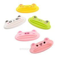 Wholesale Toothpaste Squeezer Creative household products sector Cute cartoon Animals Kids Gift