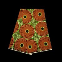 african clothing - 6yards pc VH83 New fashion hollandais real batik wax lenmon green with round pattern African painting wax fabric for clothing