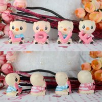 Wholesale Cute the Love Q edition small pig car accessories interior birthday party decorations kids Interior Decorations decorations for house