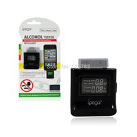 Wholesale Compact Ipega Alcohol Checker Tester Alcohol Analyzer For Iphone4s Drunk Driving Reminder Mobile Phone Alcohol Testing Machine