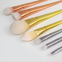real techniques makeup brush - Real Brush techniques Makeup Brush Kit BOLD METALS COLLECTION R T kabuki make up with package with logo