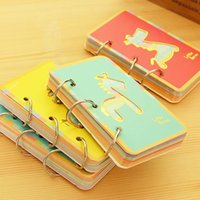 paper notebook - 2015 Sale Promotion Daily Memos Paper Sheets Agenda South Korea Is Sent To Stationery Small Trojan Ring Coil Notebook Notes