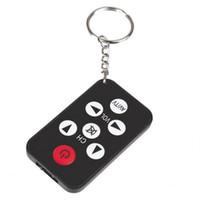 Wholesale 2016 NEW Mini Keychain Universal Remote Control for TV Set Universal TV Remote Control